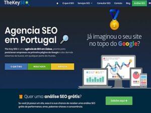 Criação de Site p/ Agência SEO em Portugal: The Key SEO
